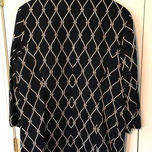 Talbots Jackets & Coats - Talbots dark navy unconstructed jacket